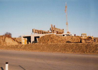 1987 Baubeginn in Tumeltsham