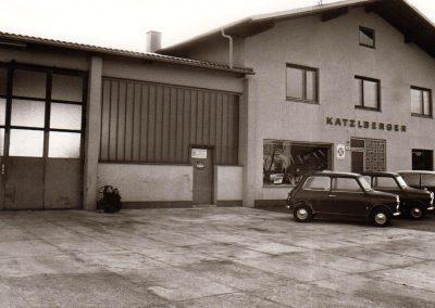 1971 Autohaus Katzlberger in Mettmach
