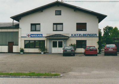 1981 Autohaus Katzlberger in Mitterdorf, Mettmach
