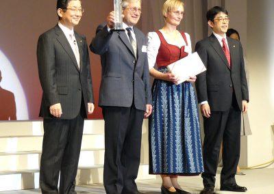 2008 Gewinner des NSSW Awards (Nissan Sales and Service Way)