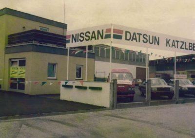 1983 Erste Filiale in Ried im Innkreis