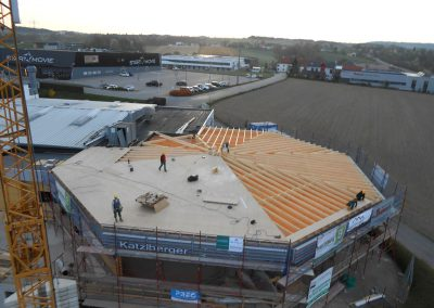 2014 Sanierung des Schauraums in Tumeltsham