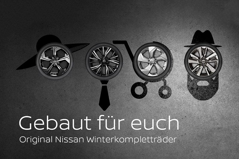 Original Nissan Winterkompletträder - gebaut für euch