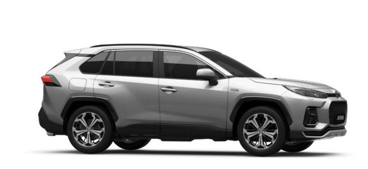 Suzuki Across silber metallic