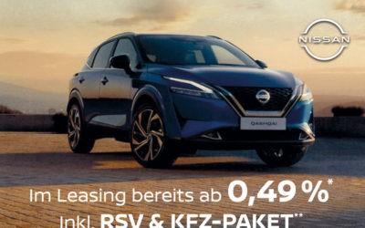 Der neue Nissan Qashqai im Leasing